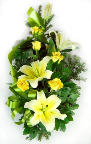 S suza žuti ljiljan žute ruže
