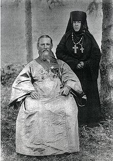 Извор: wikipedia; Св. Јован Кронштатски и игуманија Таисија